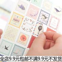 Floral deco sticker set�b��N�� DIY��ӛ�N�� 8����