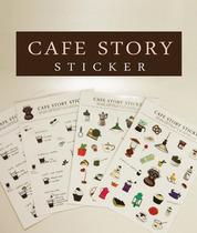 cafe house sticker ����ϵ�� ���N�� ��ӛ�N�� 4����