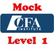 CFA�yԇ�} 2009-2014���� level2 mock exam ���|�� ����