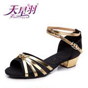 scarpe da ballo stella di penna ragazze latino latino per i bambini con le scarpe morbida suola in scarpe da ballo dei bambini scarpe da ballo pratica scarpe