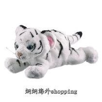 "9""���ϻ���ë�që�q�������  9"" White Tiger Cub Plush Stuffe"