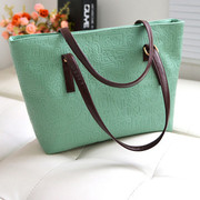 Post Korean 2014 new tide package of simple fion candy color Oracle Handbag Shoulder Bag Handbag
