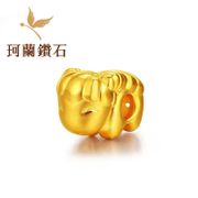 Kela gold year gift sheep year gold transport Bead Fashion 3D gold H